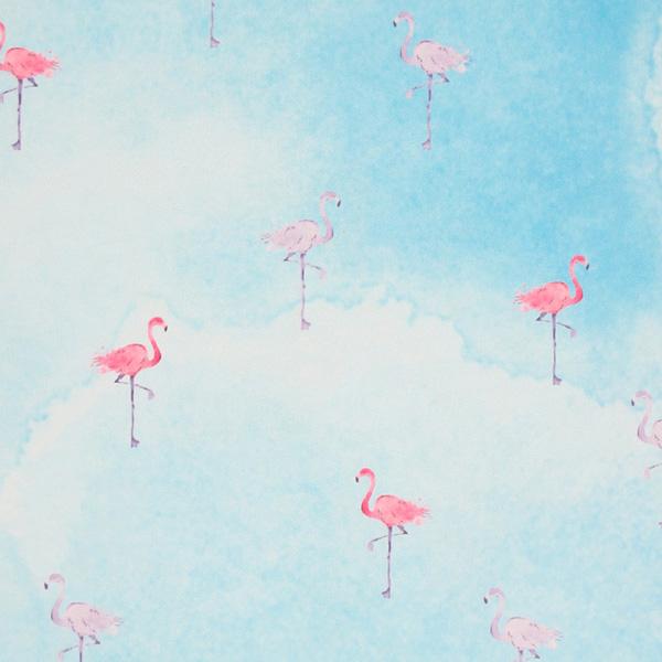 premium yoga mat flamingos flat