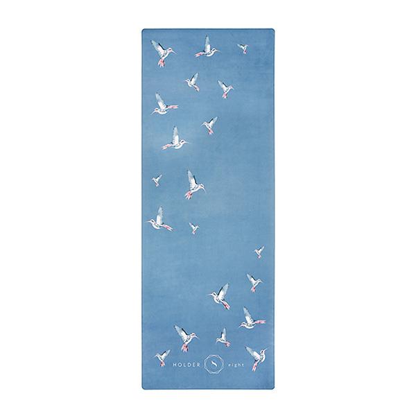 premium yoga mat humming birds