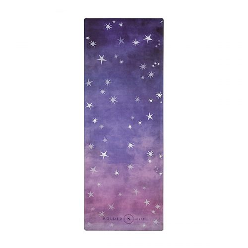 premium yoga mat night sky
