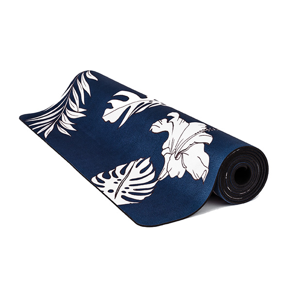 premium yoga mat botanic space roll