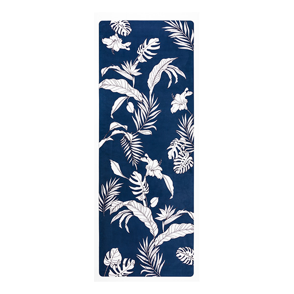 premium yoga travel mat botanic space flat