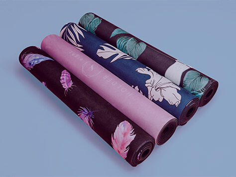 BEAUTIFULLY DESIGNED YOGA MATS FROM HOLDER EIGHT