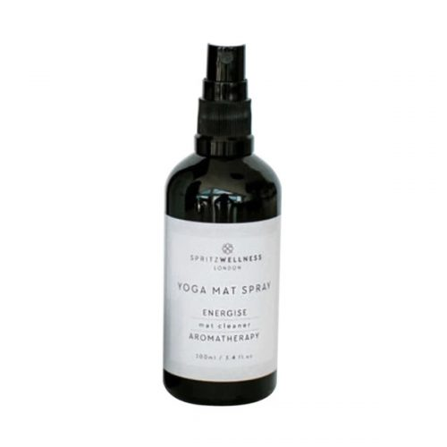 premium yoga mat spray energise